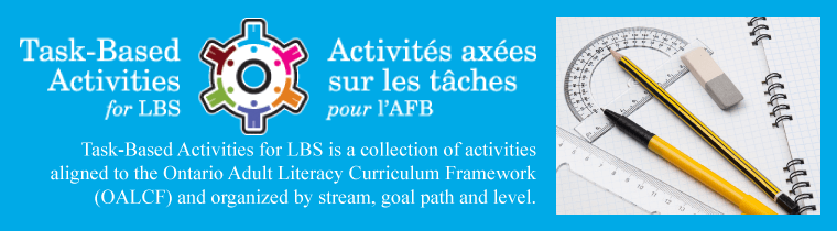 Task Baesd Activities for LBS