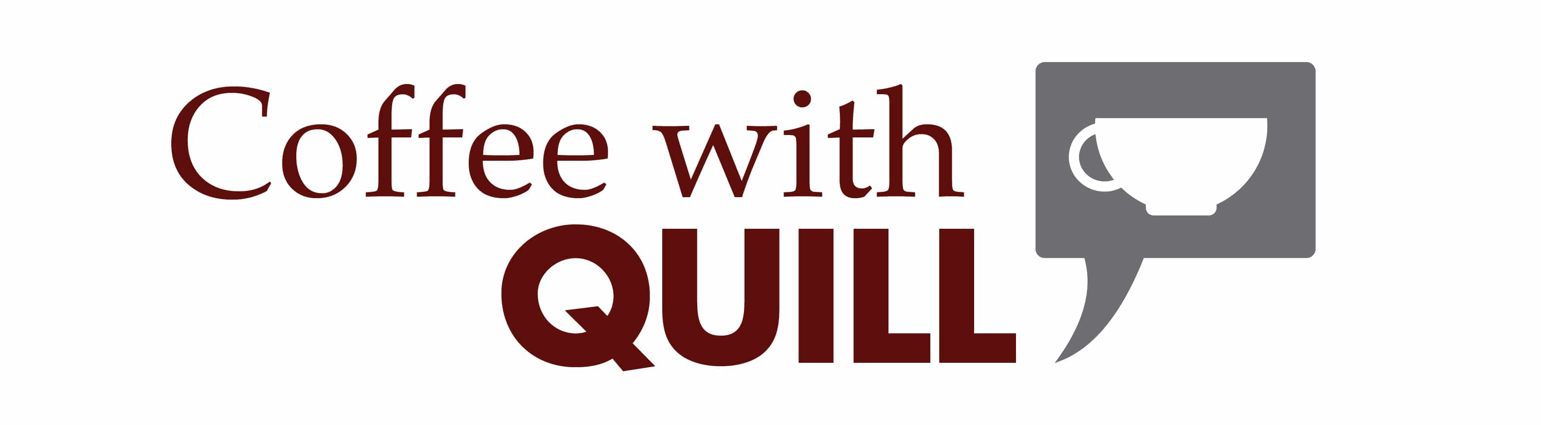 Coffee With Quill Logo